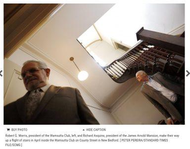 New Bedford's Arnold Mansion secures nonprofit status - Interior shot of James Arnold Mansion
