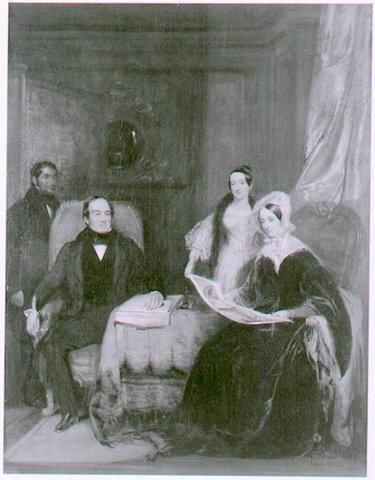 James, Sarah and daughter Elizabeth.
